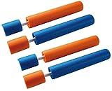 BUSDUGA 2518 Wasserspritze 4er Set aus Schaumstoff , 33cm und 6m Reichweite
