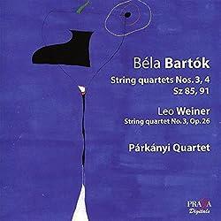Streichquartette 3 & 4nr.3