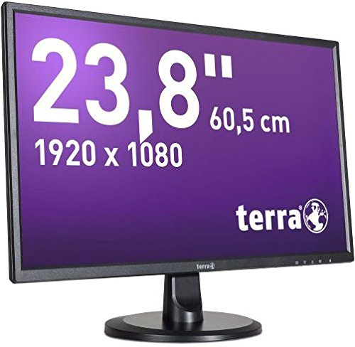 46W LED Display 61 cm (24 Zoll) Full HD LCD Matt Schwarz - Computerbildschirme (61 cm (24 Zoll), 1920 x 1080 Pixel, Full HD, LED, 5 ms, Schwarz) ()
