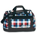 BESTWAY Rot / Blau Schulsporttasche Sporttasche Schwimmtasche Freizeittasche Weekender Traveller Bag - 40195-2747