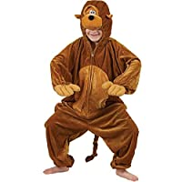 Kids Animal Boogie Woogie Monkey Fancy Dress Costume 9 - 10 years