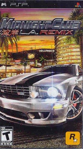 Midnight Club L.A. Remix (PSP) (Portable-spiele)