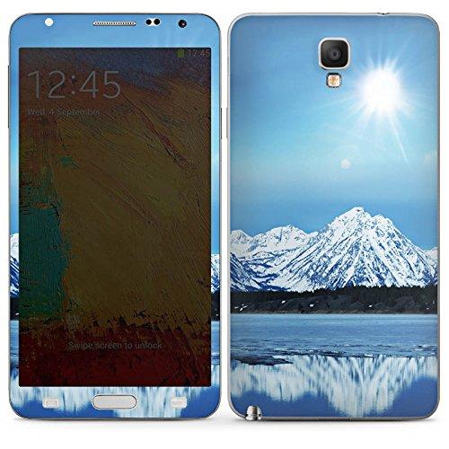 DeinDesign Samsung Galaxy Note 3 Neo Case Skin Sticker aus Vinyl-Folie Aufkleber Gebirge Schnee Gipfel -