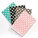 100 Frau Wundervoll Papiertüten - Design Mix - 4 Designs mit je 25 Papiertüten / Geschenktüten / Candy Paper Bags