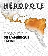 Géopolitique de l'Amérique latine par Revue Hérodote