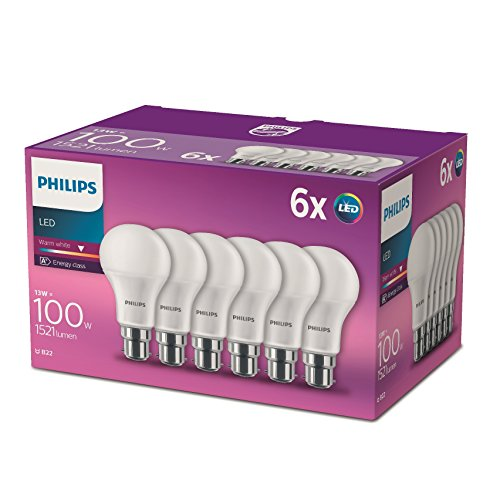 Philips-LED-E27-Edison-Screw-Light-Bulbs-Frosted-13-W-100-W