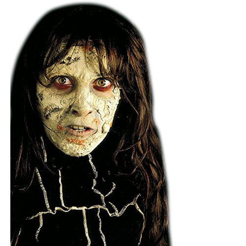 (NET TOYS Zombie Haut Make Up Halloween Schminke grau Hexen Makeup Untoter Faschingsschminke Horror Theaterschminke Fahles Gesicht Schminkfarbe)