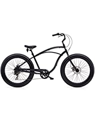 Electra Cruiser Lux 7D Fat Tire Men Noir mat