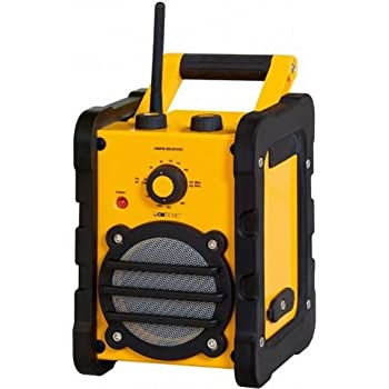 Clatronic BR 816 Baustellenradio gelb