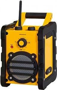 CTC BR 816 Baustellenradio gelb