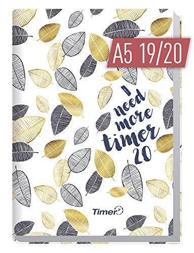 Chäff-Timer Classic A5 Kalender 2019/2020 [Blätterregen] Terminplaner 18 Monate: Juli 2019 bis Dez. 2020 | Wochenkalender, Organizer, Terminkalender mit Wochenplaner - Top organisiert durchs Jahr! (Monats-und Wochenplaner)