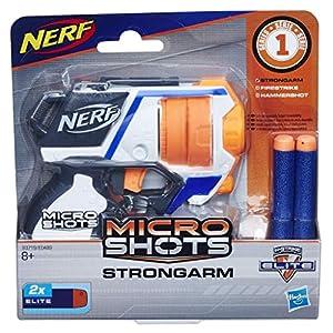 Hasbro- Nerf Elite Microshots Pistola lanzadardos, (E0489EU41)