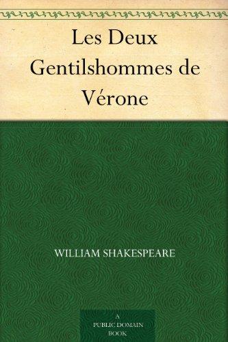 Couverture du livre Les Deux Gentilshommes de Vérone