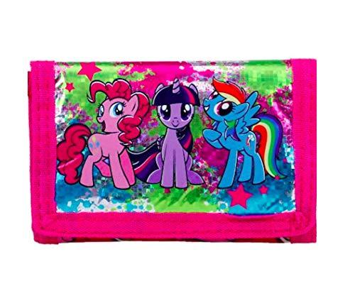 Filly - My Little Pony GELDBÖRSE mit Glitzer, Portemonnaie Geldtasche ()