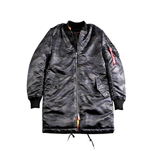 Alpha Industries Jacke MA-1 Coat Black Camo