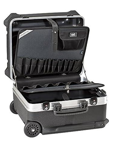 GT Line Werkzeugkoffer, 1 Stück, 470 x 390 x 347 mm, schwarz, TURTLE 350 PTS