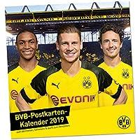 Borussia Dortmund Postkartenkalender 2019