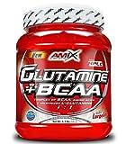 Amix Glutamine + BCAA 500 gr - frutas del bosque (glutamina + bcaas)