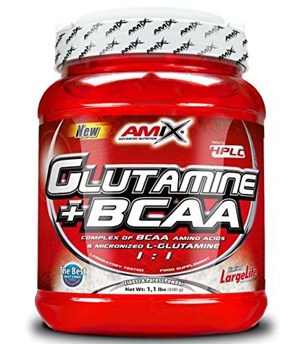 Amix Glutamine + BCAA 500 gr - frutas...