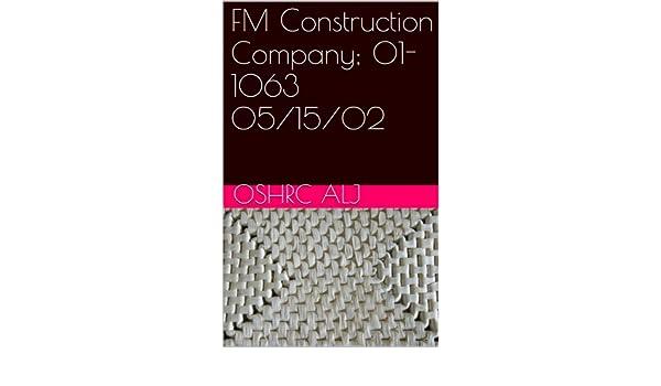 FM Construction Company; 01-1063  05/15/02
