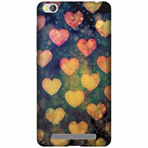 Printland Designer Back Cover For Xiaomi Redmi 3s - Heart Cases Cover
