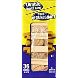 Tumble Tower Stacking Wood Block Game 4.5 Inches Tall