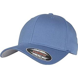 Flexfit 6277 Wooly Unisex Combed Cap, slate blue, XS/S