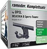 Rameder Komplettsatz, Anhängerkupplung Abnehmbar + 13pol Elektrik für Opel Insignia B Sports Tourer (146906-37807-1)
