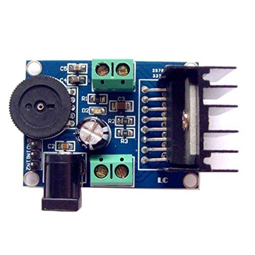 Ben-gi TDA7297 3-18V Dual Channel Voice-Sounds Verstärker-Brett-Modul 15W + 15W Audio-Leistungsverstärkermodul für 10-50W Lautsprecher (15 4-ohm-lautsprecher)