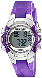 Timex Womens T5K816M6 Marathon Digital Display Quartz Purple Watch