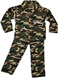 Girls Boys Dress Up Costume Childrens Kids Party Outfit Fancy Dress - Army Camo Soldier Outfit