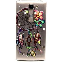 Voguecase® Para LG Magna/LG G4c ultra-slim fit TPU Funda de Silicona de Gel Carcasa Tapa Case Cover (flores del Campanula) + Gratis aguja de la pantalla stylus universales