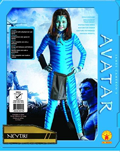 Imagen de rubbies  disfraz de avatar para niña, talla m 8  10 años  884294 l  alternativa