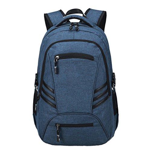 LAIDAYE Schultern Reisetasche Business Freizeit Mehrzweck- Reiserucksack Blue