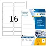 Herma 4515 Namensetiketten ablösbar 320 Stück auf 20 Blatt DIN