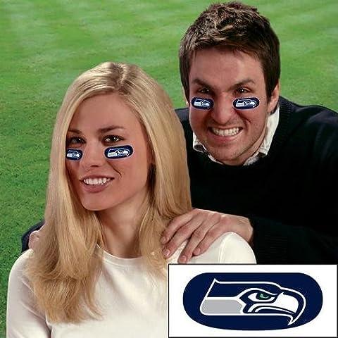 Party Animal Seattle Seahawks NFL Eyeblack Strips (6 Each) PAR-EBSE