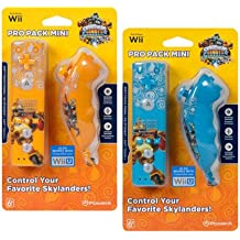 Ardistel - Paquete Pro Mini Mandos Skylanders (Mando + Nunchuck) (Nintendo Wii)