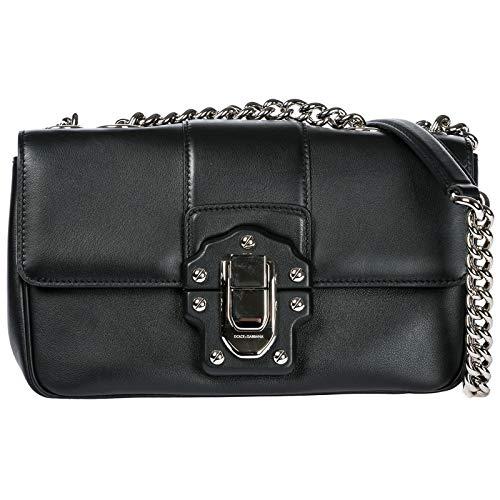 Dolce & Gabbana Umhängetasche Damen Tasche Schultertasche Messenger Leder matisse