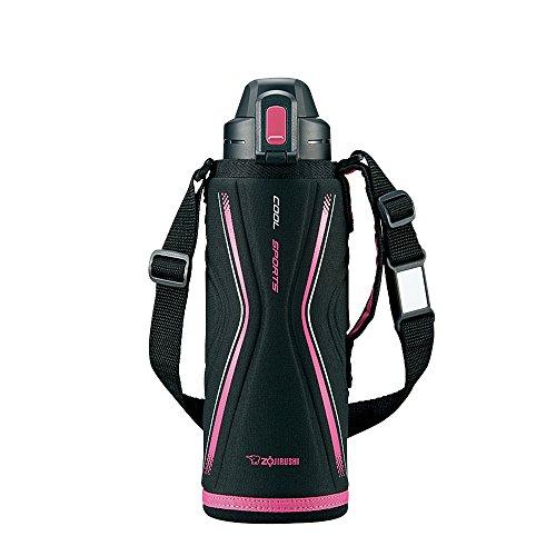 Zojirushi stainless cool bottle TUFF (1.03L) Pink Black SD-EB10-BP by Zojirushi