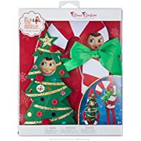 Elf en la plataforma Claus Couture Haha disfraces novedad de vacaciones, rojo/blanco/verde