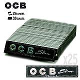 OCB Zigarettenblättchen Slim Premium, 25 Stück
