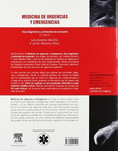 Copertina del libro Medicina de Urgencias y emergencias - 5ª Edición (+ Acceso Web)