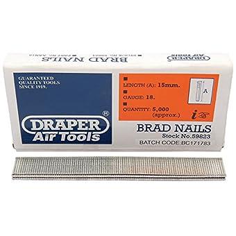 Draper 59823 Clous 15 mm (Import Grande Bretagne)