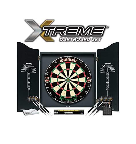 "Winmau Dartboard Set \""XTREME\"" inklusive Cabinet"