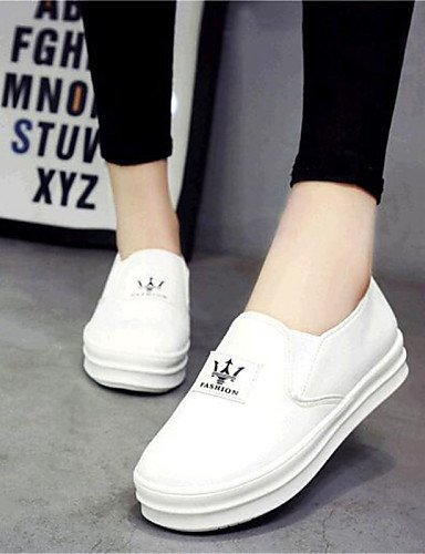 ZQ gyht Scarpe Donna-Mocassini-Tempo libero / Sportivo-Comoda-Piatto-Di corda-Nero / Bianco , white-us9 / eu40 / uk7 / cn41 , white-us9 / eu40 / uk7 / cn41 white-us7.5 / eu38 / uk5.5 / cn38
