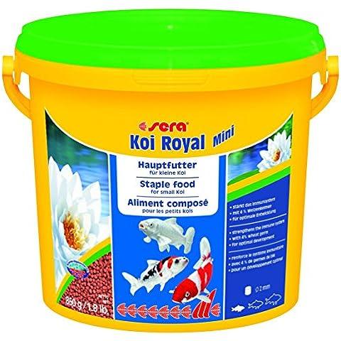 Sera, Koi Royal Mini, Cibo Per Pesce Koi, 3.800 (Mangime Per Pesci Animali)