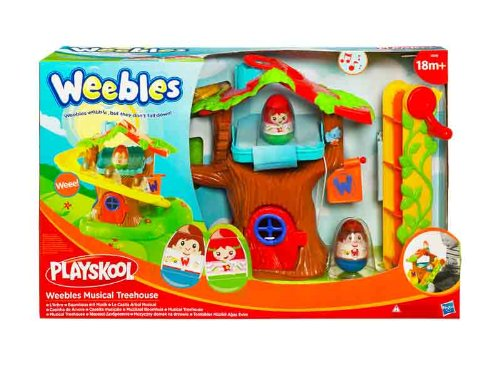 Playskool Hasbro Weebles Árbol Musical – Casa del árbol de Juguete