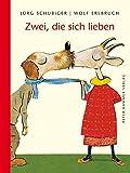 Zwei, die sich lieben - Wolf Erlbruch, Jürg Schubiger