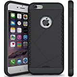 Coque iPhone 6s, LANOU iPhone 6 Coque Protection Case Housse Étui pour iPhone 6s / 6 – Noir