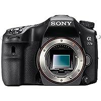Sony Alpha 77M2L Fotocamera Digitale Reflex con Obiettivo Intercambiabile, Sensore APS-C CMOS Exmor da 24,3 Megapixel, Obiettivo 18-55mm incluso, Nero